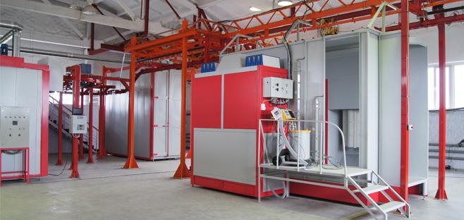 Оборудование для порошковой окраски продукция и технологии